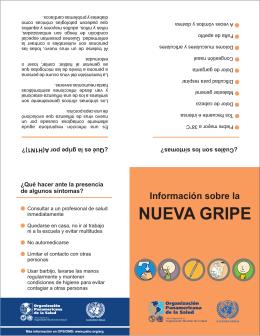 NUEVA GRIPE