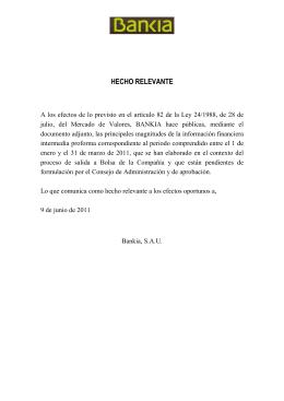 BANCO FINANCIERO Y DE AHORROS, S