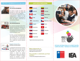 folleto ICILS 2013