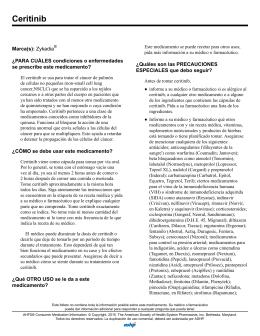 Ceritinib - AHFS Drug Information