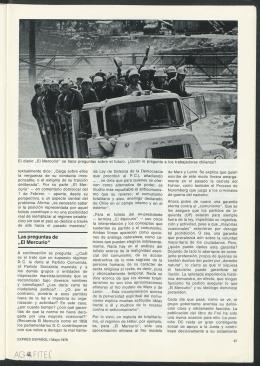 """Las preguntas de """"El Mercurio"""""""
