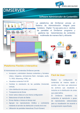 Fácil de Usar: Plataforma Flexible e Interactiva: