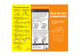 Guía de fácil comprensión - KYOCERA Document Solutions