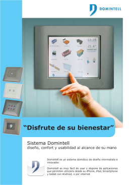 Descargar folleto Domintell