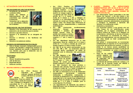 folleto de seguridad vial - Asociación de militares españoles AME