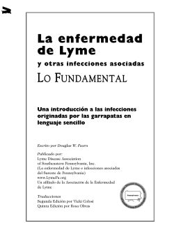 La enfermedad de Lyme - Lyme Disease Association of