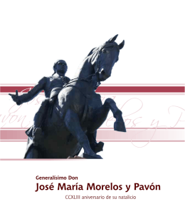 José María Morelos y Pavón - Instituto Electoral del Estado de