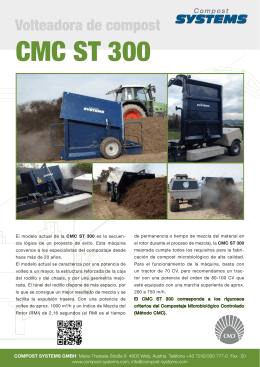 CMC ST 300 - Compost Systems