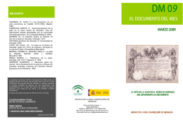 DOCUMENTO DEL MES FOLLETO PLANTILLA