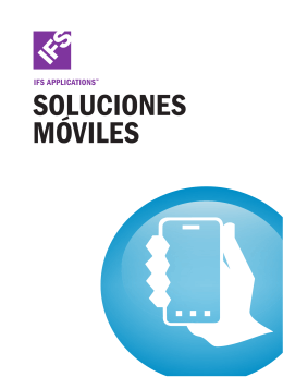 CATALOGO IFS - Folleto IFS Soluciones Móviles