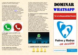 Dominar WhatsApp
