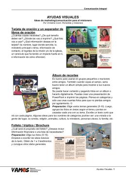 Ayudas Visuales - un pdf
