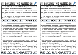 Folleto Patinaje