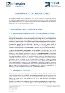 documento introductorio - Colegio Oficial de Peritos e Ingenieros