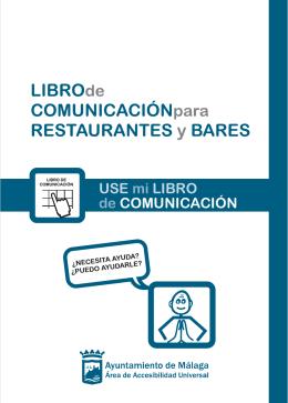 Libro de Comunicación Bares (en inglés)