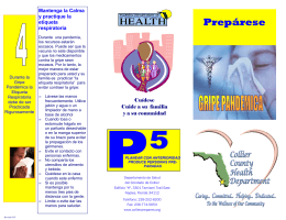 GET READY NOW SWINE Spanish(Pandemic Flu )revised2009