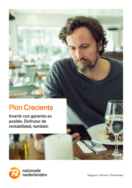 Folleto Plan Creciente - Nationale