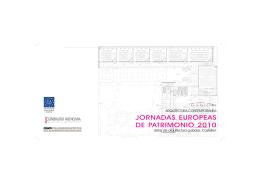 folleto visita arquitectura contemporánea de castellón
