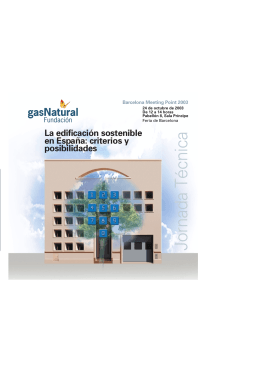 folleto MeetingPoint - Fundación Gas Natural Fenosa