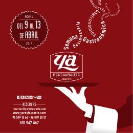 folleto sem gastronomica 2014