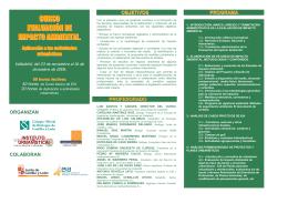 2006_10_27 Curso EIA 2 folleto - Colegio Oficial de Arquitectos