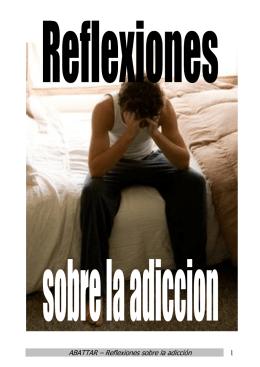 Reflexiones sobre la adicción
