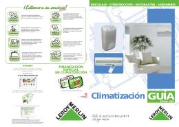 Guía de climatización
