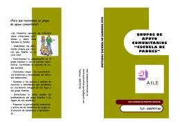 folleto escuela de padres