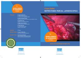 Descargar Folleto - Curso Nefrectomía Laparoscópica