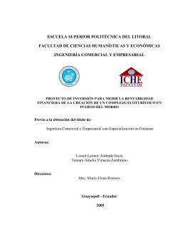 capítulo 1 - DSpace en ESPOL - Escuela Superior Politécnica del