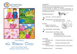 La Princesa Teresa - Colegio Espíritu Santo de Baena