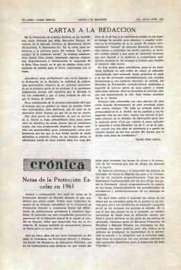 Crónica - Ministerio de Educación, Cultura y Deporte