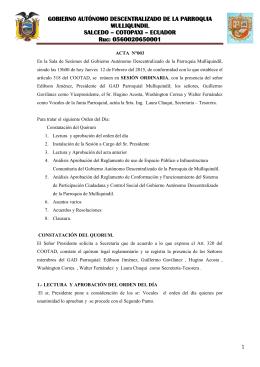 acta 003 del 12 de febrero