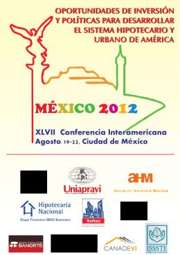 MÉXICO 2012 - International Union for Housing Finance