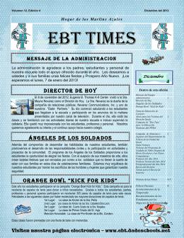 EBT Times - Eugenia B. Thomas K