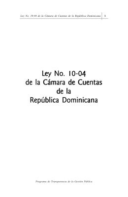 folleto ley camaracuentas
