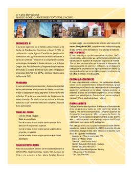 Folleto del Curso en pdf - Comisión Económica para América Latina