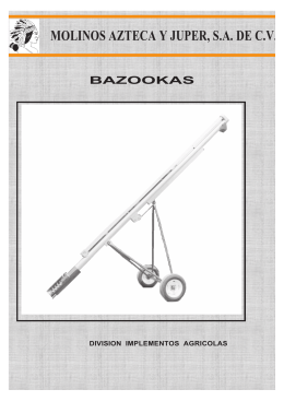 Descargar FOLLETO BAZOOKA