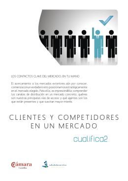 CLIENTES Y COMPETIDORES EN UN MERCADO