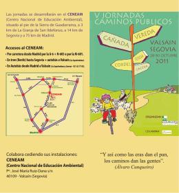 Anverso folleto - Ecologistas en Acción