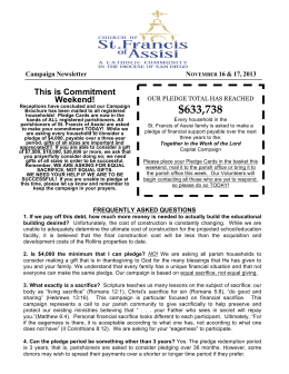 SFA_Bulletin_ 12Revision - St. Francis of Assisi Catholic Church