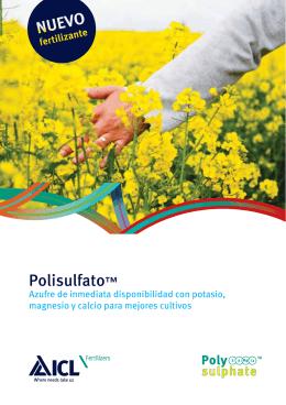Polisulfato™ - Polysulphate