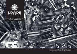 Folleto A5 LOWDE - tornillos de titanio