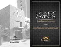 Folleto Eventos (Carta)