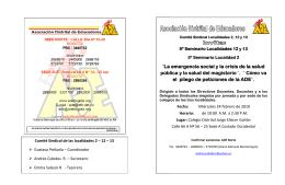 SEMINARIO LOCALIDADES 2,12,13