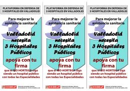 folleto hospitales