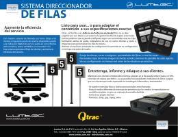 Sistema Direccionador de Filas Q-trac
