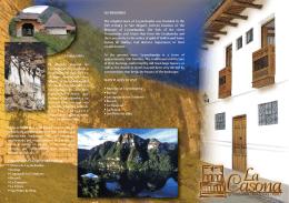 folleto - LA CASONA