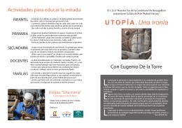 folleto e. de la torre - COLEGIO DE BENAGALBON