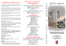FOLLETO 2013 2014 MAYO V1 - AMPA Colegio La Inmaculada